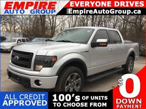 2013 FORD F-150 FX4 * 4WD * 1 OWNER * LEATHER * NAV * REAR CAM *