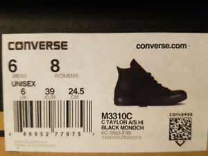 Converse Shoes (Black - BRAND IN BOX)