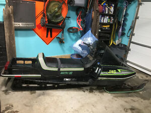 1990 arctic cat super jag 440 long track