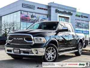 2017 Ram 1500 Laramie Limited, Only 27,200 KMS, Roof, Navi