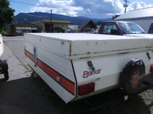 Bonair Tent Trailer,Use or Make Utility trailer no papers