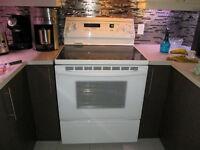 Trio lave-vaisselle / cuisinière / réfrigérateur