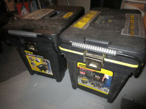 2 Used Stanley Tool Chests