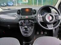 2019 Fiat 500 Fiat 500 1.2 Lounge 3dr 16in Alloys Hatchback Petrol Manual