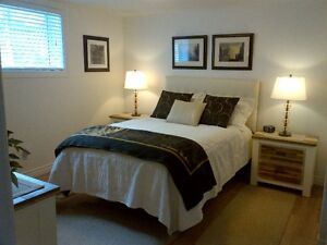 Furnished room in basement to rent