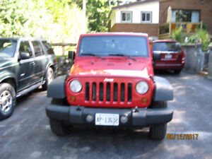 2007 Jeep Wrangler unlimited SUV, Crossover
