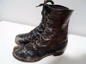 VICTORIAN child's lace-up shoes boots STEAMPUNK KIDS! Tiny Tim Cambridge Kitchener Area image 2