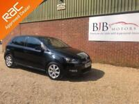 2012 61 VOLKSWAGEN POLO 1.4 MATCH 5D 83 BHP BLACK METALLIC, 66K MILES