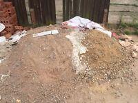 cement sand gravel mix