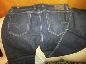 Diesel Viker R Box Jeans 36 Made In Italy New
