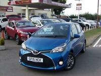 2015 Toyota Yaris 1.33 VVT-i Icon 5dr HATCHBACK Petrol Manual
