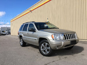 2004 JEEP CHEROKEE LIMITED 4x4 **91,000KM