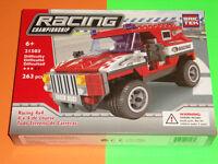 Brictek Set Voiture Course Racing Lot Compatible Lego