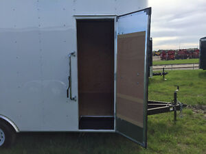2016 TNT 8.5x16ft Enclosed Trailer w/12'' Extended Height $8999 Edmonton Edmonton Area image 5