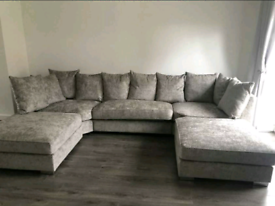 ✅Big U-Shape Corner Sofa Available 🛋