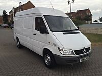 MERCEDES SPRINTER 311 CDI, MEDIUM WHEEL BASE, 12 MONTHS MOT, EXCELLENT CONDITION, NO VAT !!!