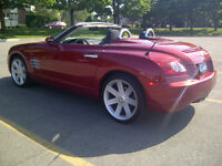 2008 Chrysler Crossfire Limited Convertible in Blaze Red