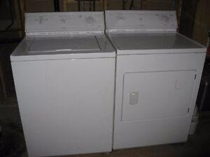 Heavy Duty washing machine and dryer