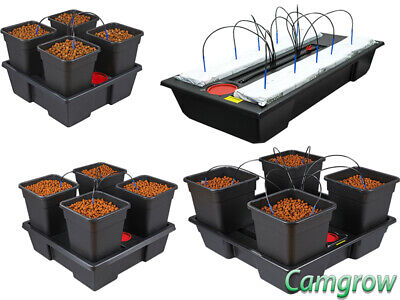 Pot Dripper-system (ATAMI WILMA 4 - Complete Hydroponics Dripper System - Pots 6L,11L,18L & 25L Pots)