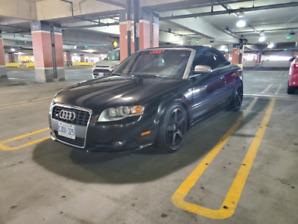 2008 Audi s4 Convertible