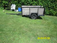 Remorque utilitaire )Utility trailer)
