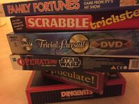 Assortment of board games