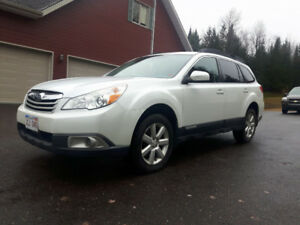 2012 Subaru Outback PZEV One Owner Mostly Hwy kms