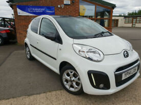 2014 Citroen C1 1.0i ( 68bhp ) Platinum MANUAL PETROL FULL SERVICE LOW TAX