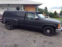 Chev lowered dually
