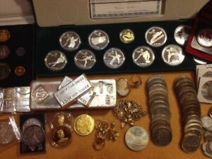 Buying COINS, Jewellery, GOLD, SILVER, Bullion, Scrap Gold +