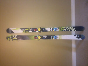 Salomon Twin Rockers with Bindings