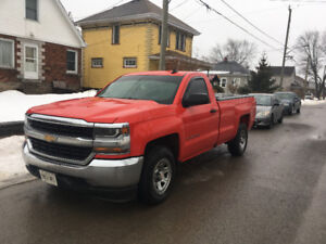2016 Chevrolet Silverado 1500 Single cab/long box Pickup Truck