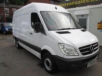 2008 MERCEDES-BENZ SPRINTER 2.1 311 CDI, MEDIUM WHEEL BASE, HIGH ROOF, 12 MONTH