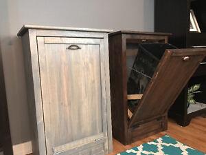 Trash cabinet (hand made)