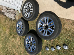 Toyota 4runner Limited 20' rims and tires