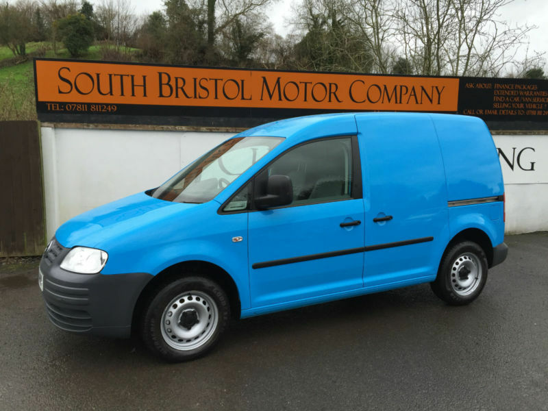 2010 10 VOLKSWAGEN CADDY VAN 2.0 SDI C20 TWIN SIDE DOORS 1 OWNER 47K FSH BLUE | in Somerset ...