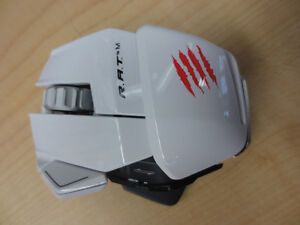 Mad Catz R.A.T. M Wireless Bluetooth Laser Gaming Mouse