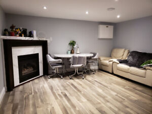 Private room in a 2 bedroom basement apartment - 8 months