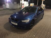 BMW 318d m sport manual le mans blue Px welcome Mercedes BMW audi
