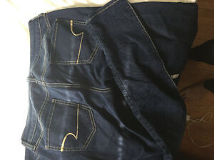Two pairs of size 6 AE jeans