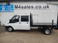 Ford Transit 350, D/CAB, 1 Stop Tipper, 115ps 6sp.