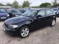 BMW 118 2009 2.0TD DIESEL - MANUAL - 1 PRVS OWNER -FULL LEATHER TRIM