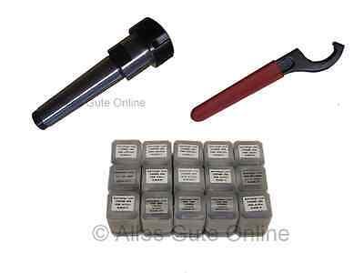 Spannfutter MK3 M12 ER25 + 15x Spannzangen + Schlüssel H