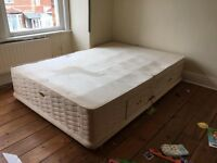 Double bed duvon frame only