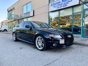 2010 AUDI A4 S-LINE QUATTRO -MANY UPGRADES-CERTIFICATION AVAIL.