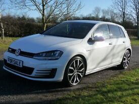 Volkswagen Golf GTD TDI 2.0 184 PS 2014/14 (WHITE) (white) 2014