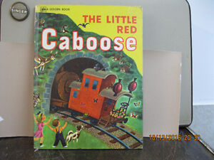 VINTAGE THE LITTLE   RED  CABOOSE BOOK   YEAR     1976