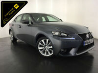 2014 64 LEXUS IS300H EXECUTIVE EDITION HYBRID 1 OWNER SERVICE HISTORY FINANCE PX