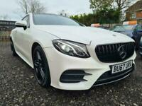 2017 Mercedes E220d 2.0 AMG Line Premium 9G Coupe, stealth pack with 8,800 miles