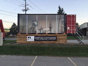 Custom Shipping Container Showroom